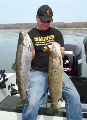 Wisconsin brown trout for Wi fishing regs